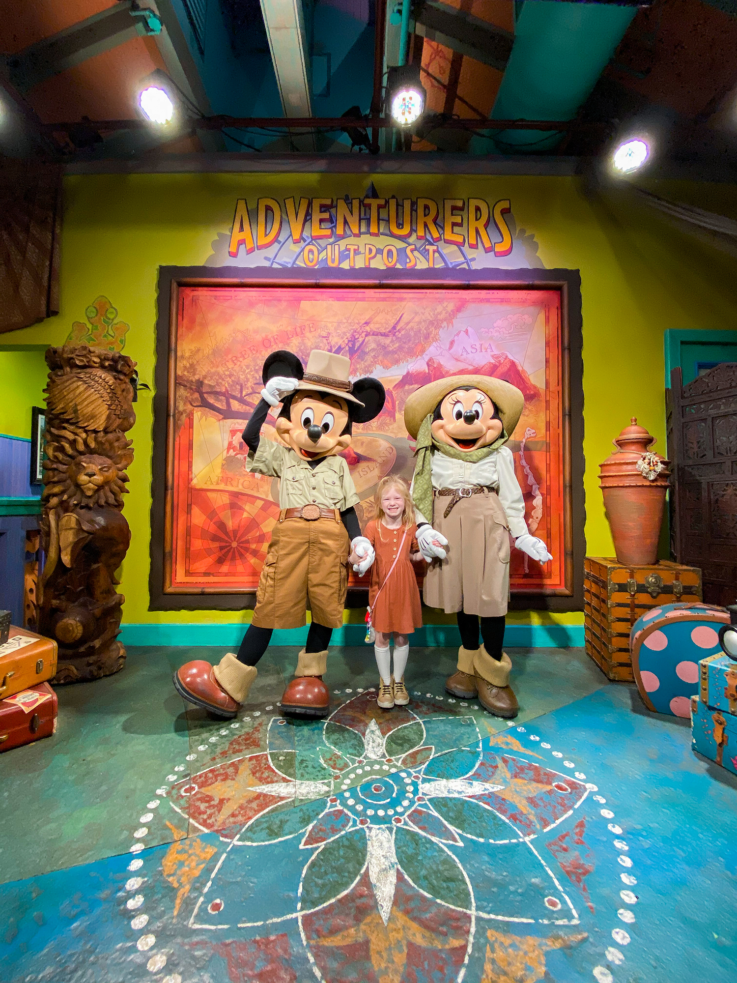 Safari Minnie and Mickey is a must visit in Animal Kingdom!
