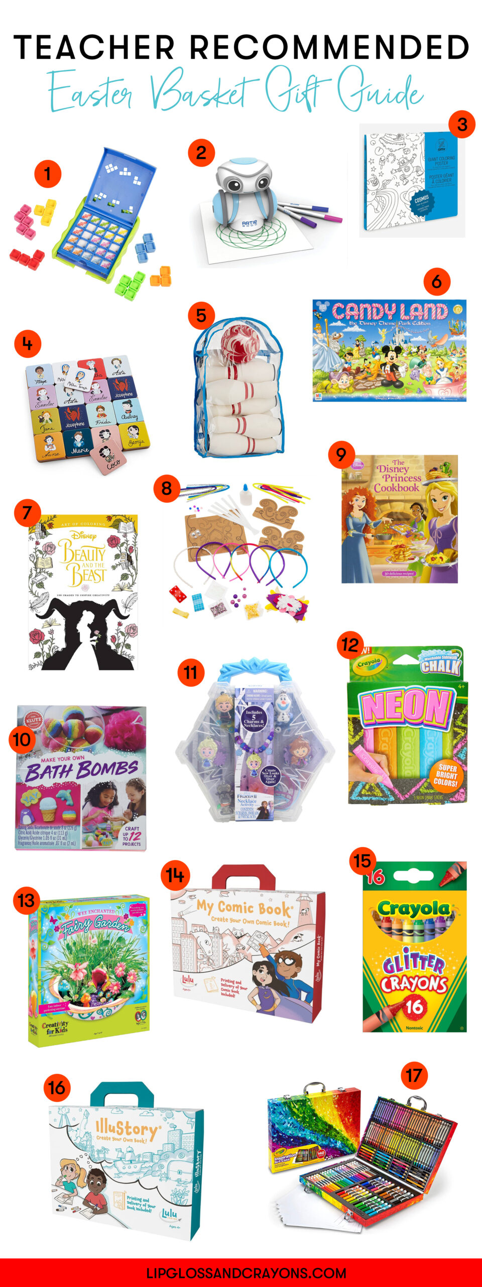 Trying to figure out what to do for Easter Baskets? These gift ideas are great learning tools that you'll be happy to have on hand!