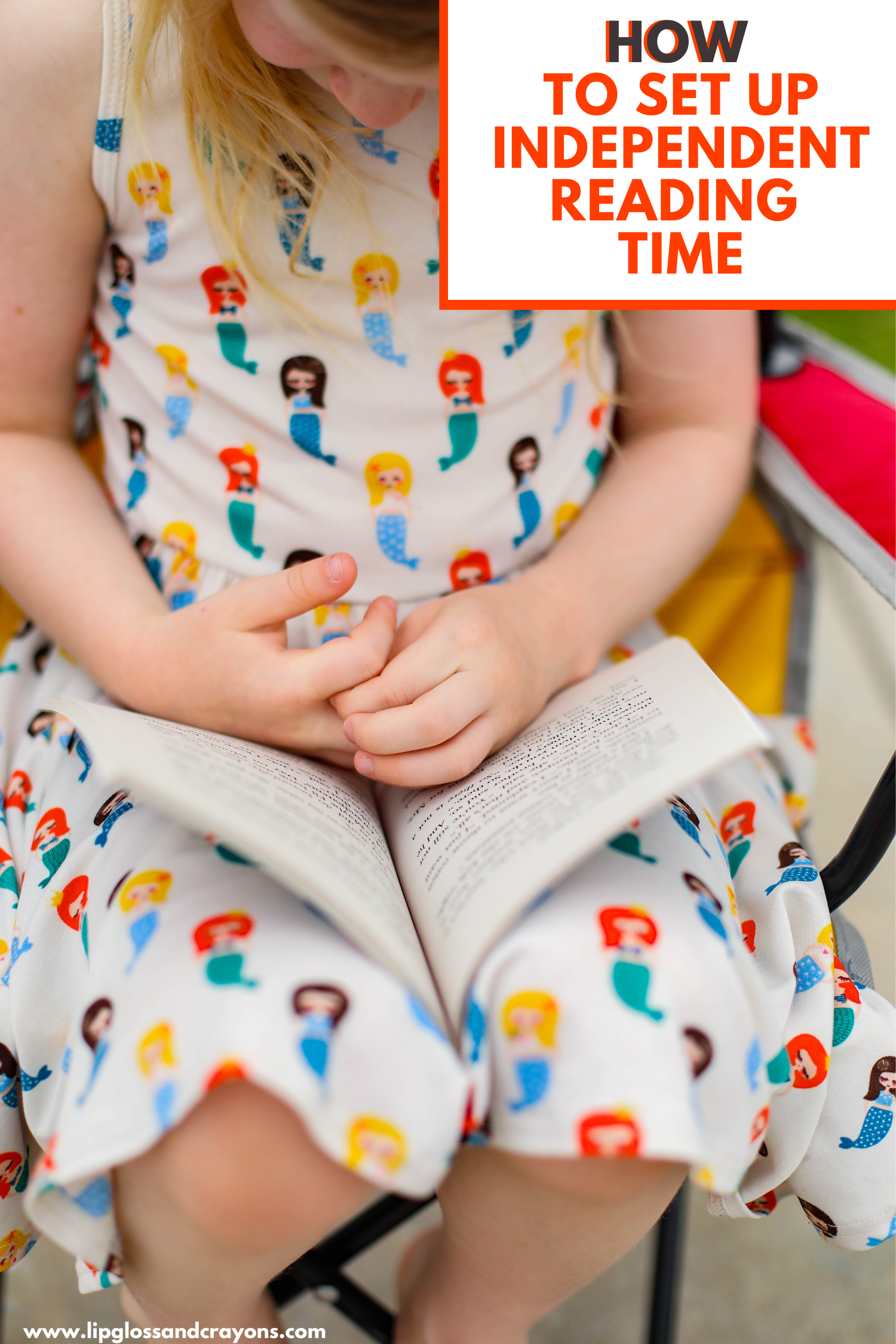 Wondering how to make independent reading happen in your family? Yes, even young children can do independent reading and ENJOY it.  Here's how!