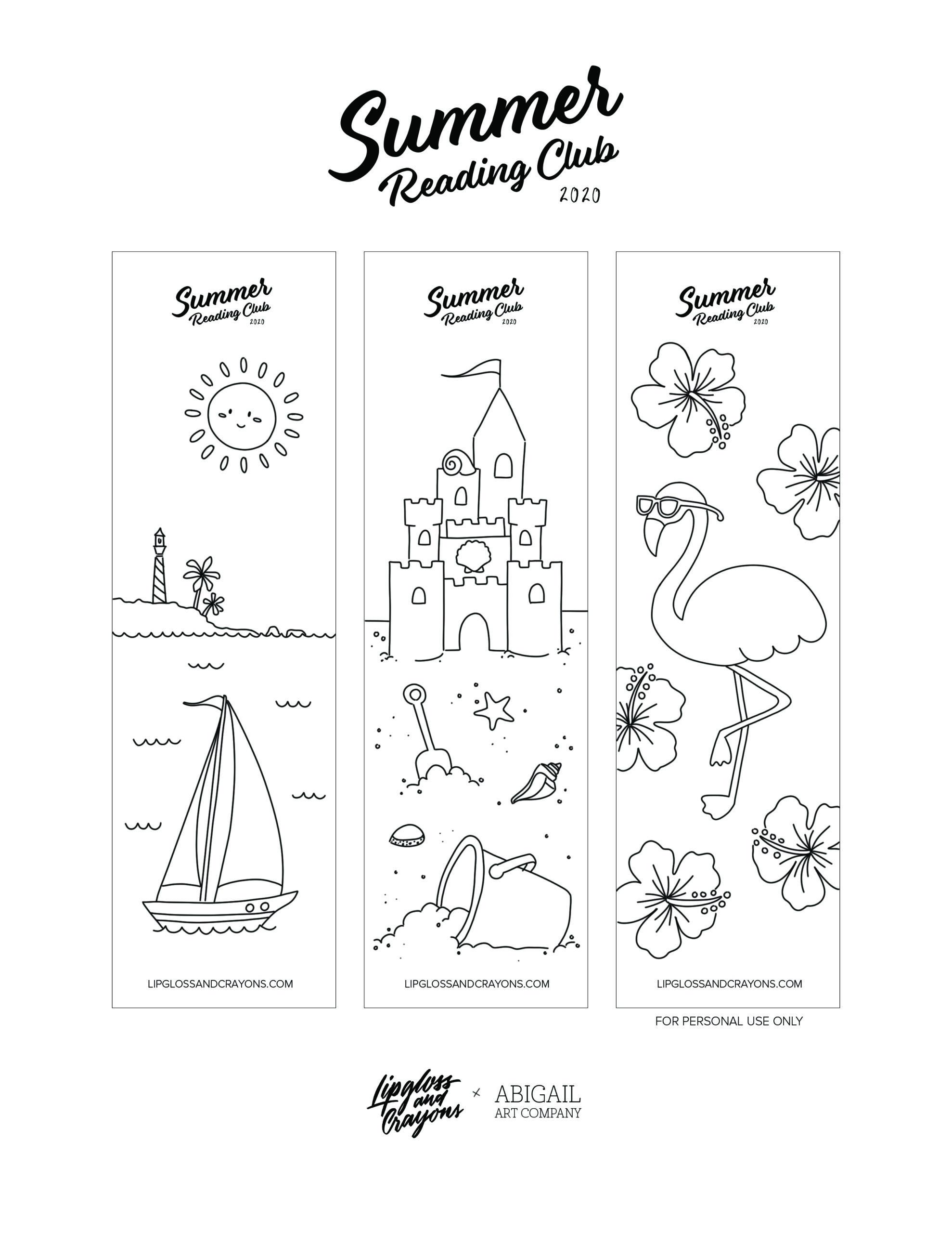 Free Printable Bookmarks: Aren't these fun?!?