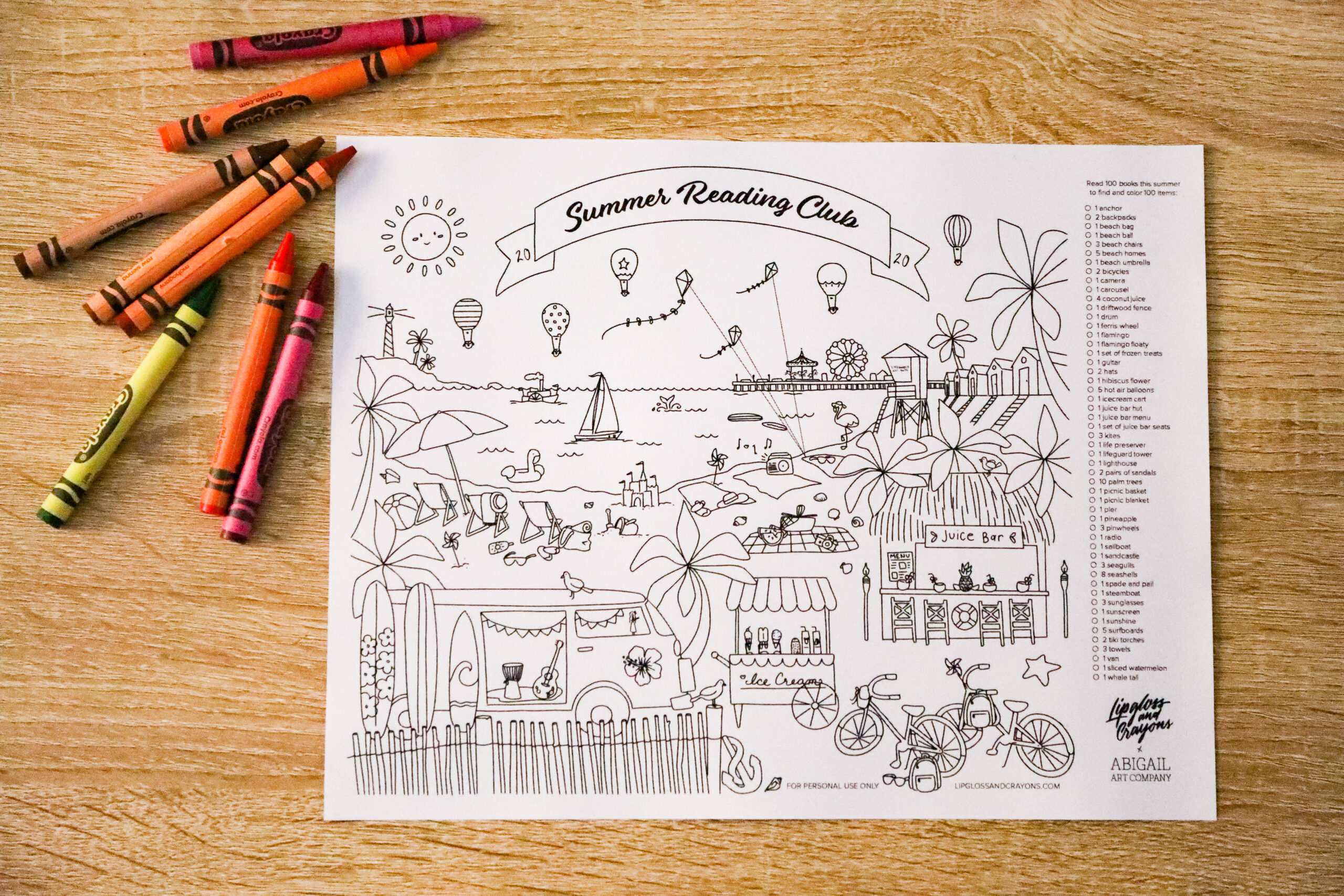 Summer Reading Club: This free printable reading chart is the perfect way to encouraging reading all summer break!