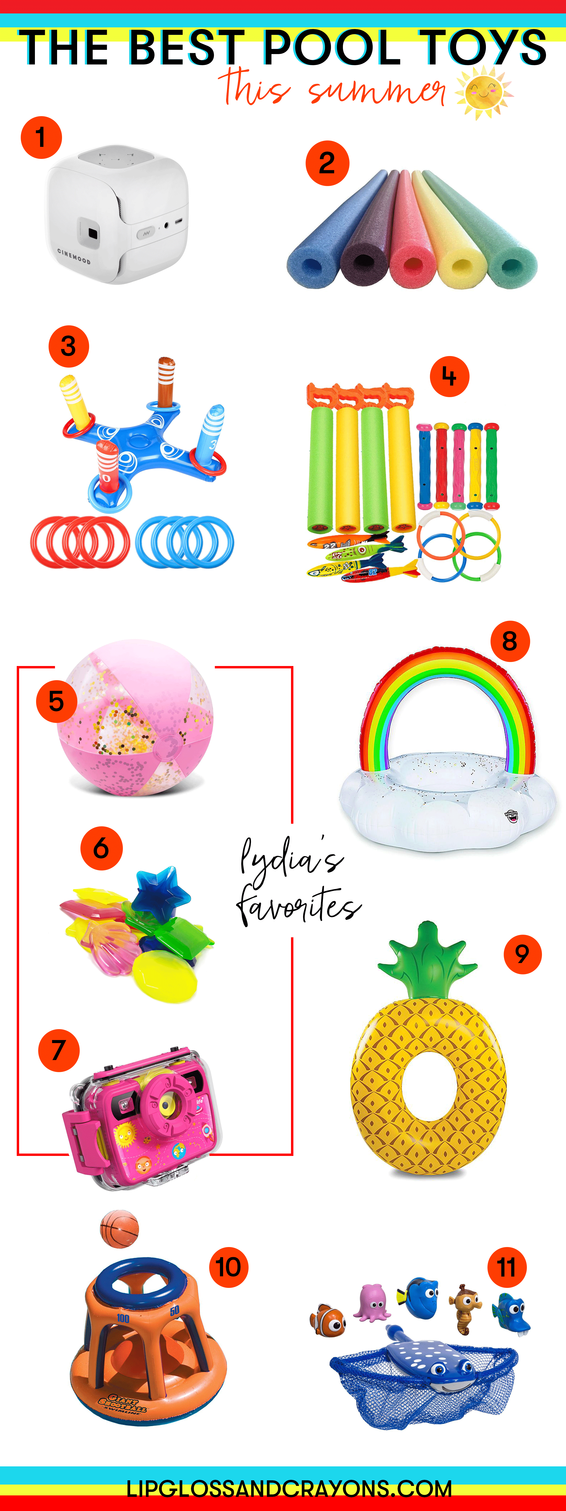 On the hunt for the best pool toys for kids? These are our top picks!