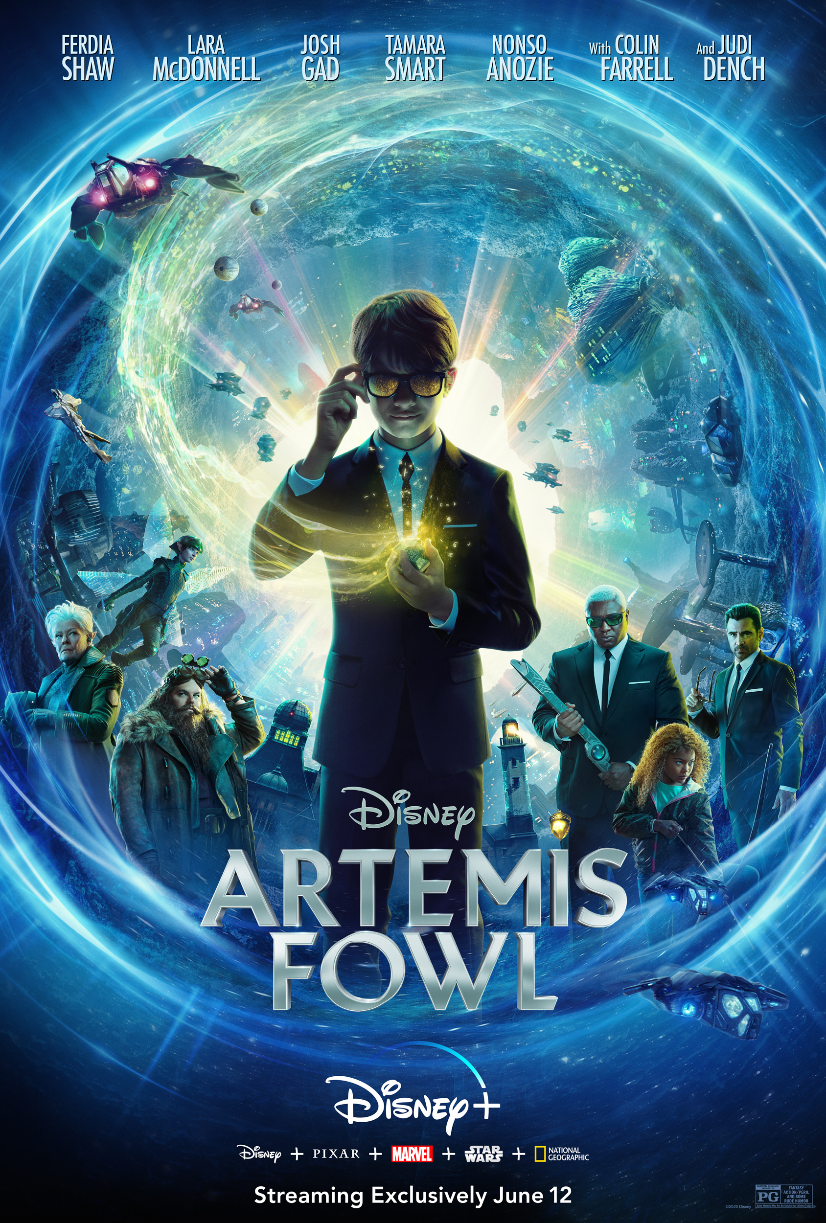 Considering watching Artemis Fowl with your kids? This Artemis Fowl movie review will tell you what ages it's perfect for!