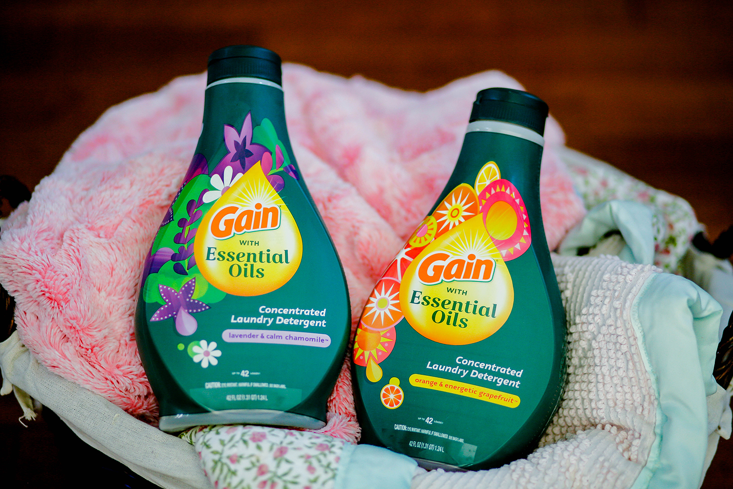 Gain Laundry with Essential Oils