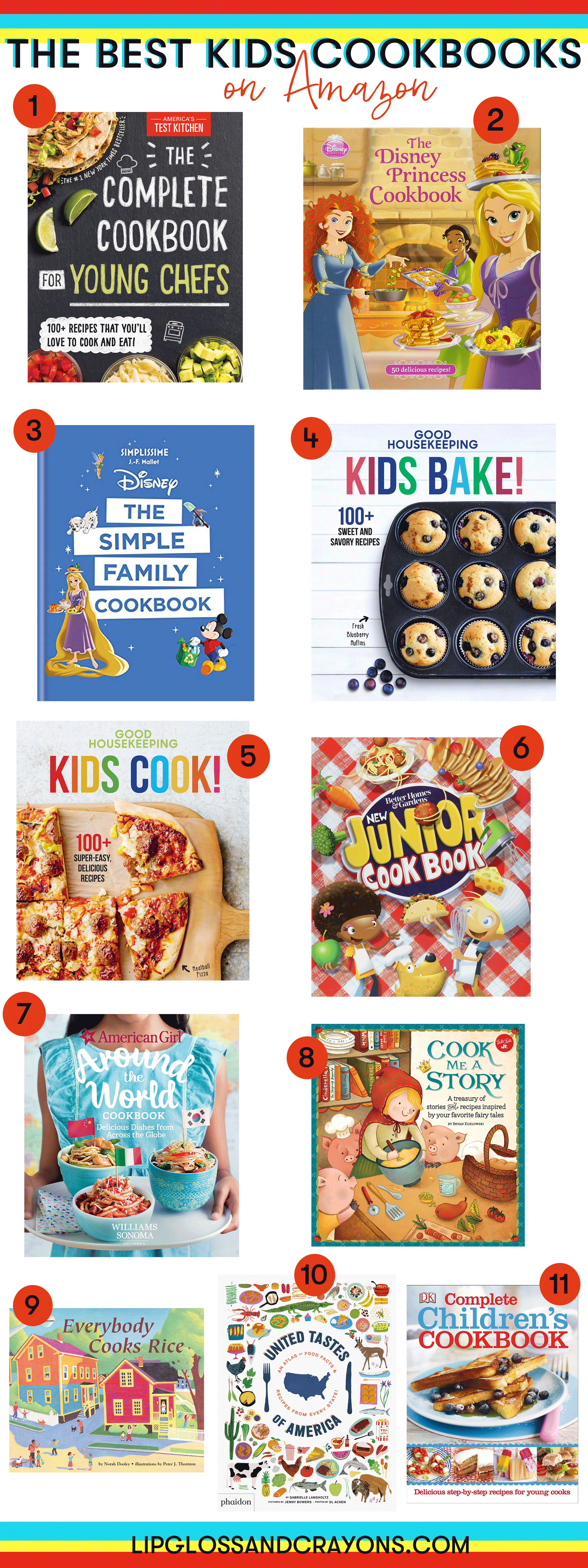 Want to start baking with kids in your family? These cookbooks are a great place to start!