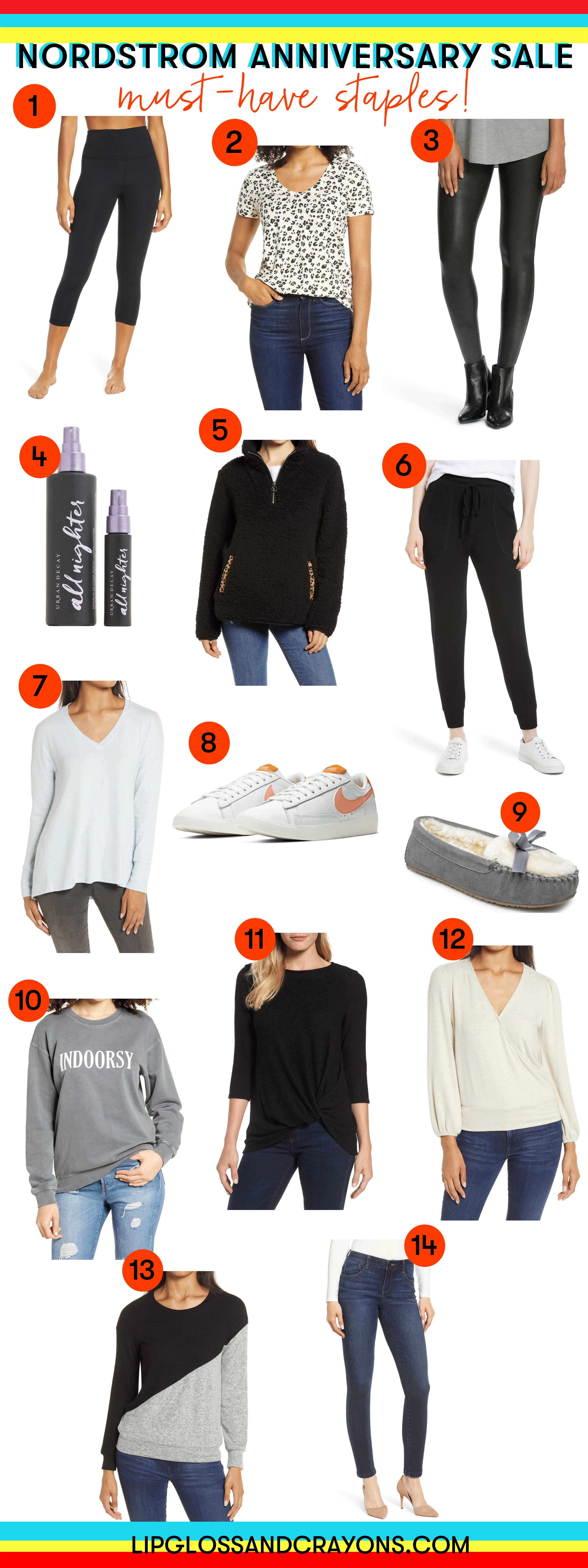 Planning to shop the Nordstrom Anniversary Sale? These are my must have fall wardrobe staples!