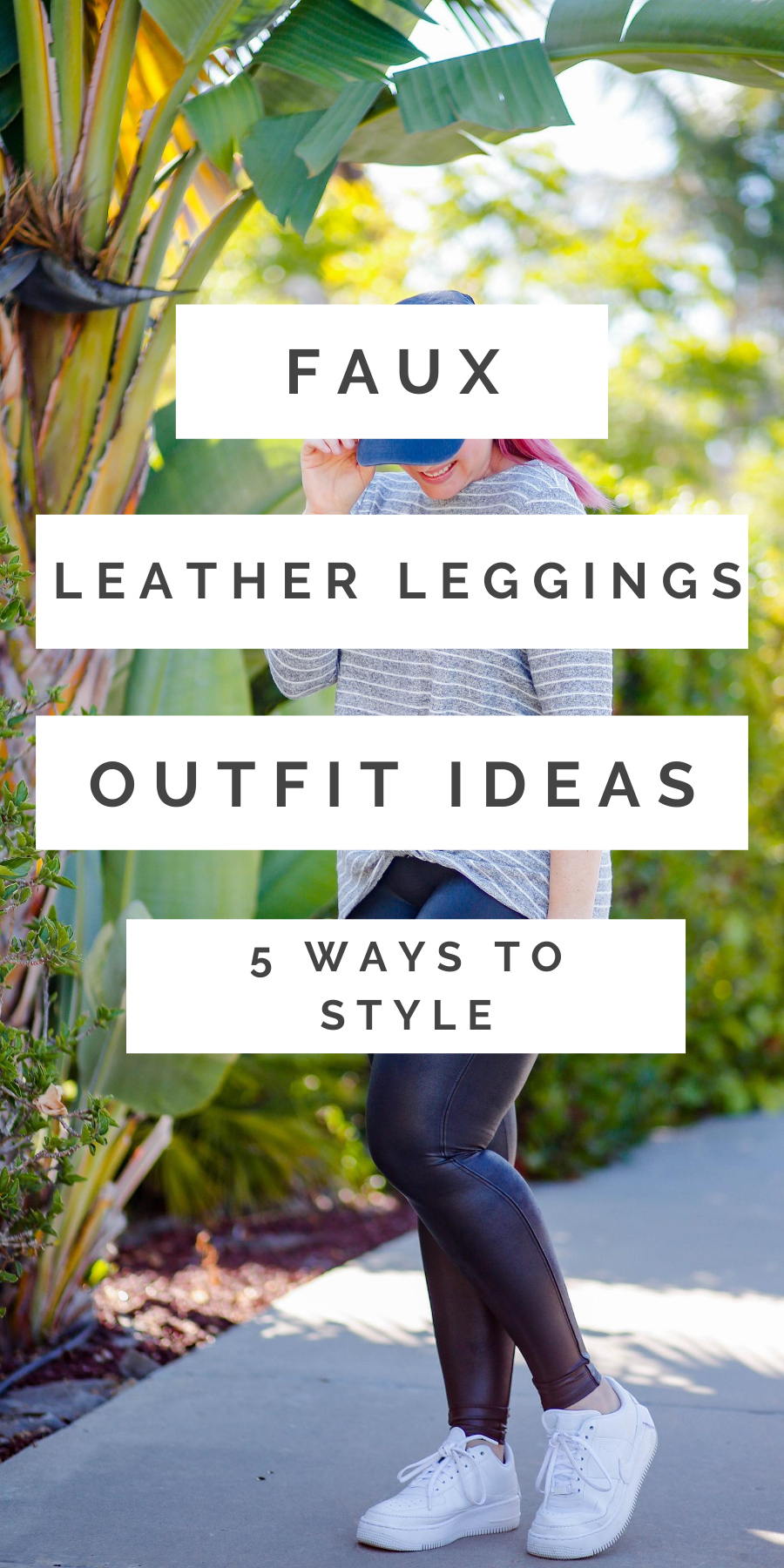 Leather Leggings Outfit Ideas Lipgloss And Crayons