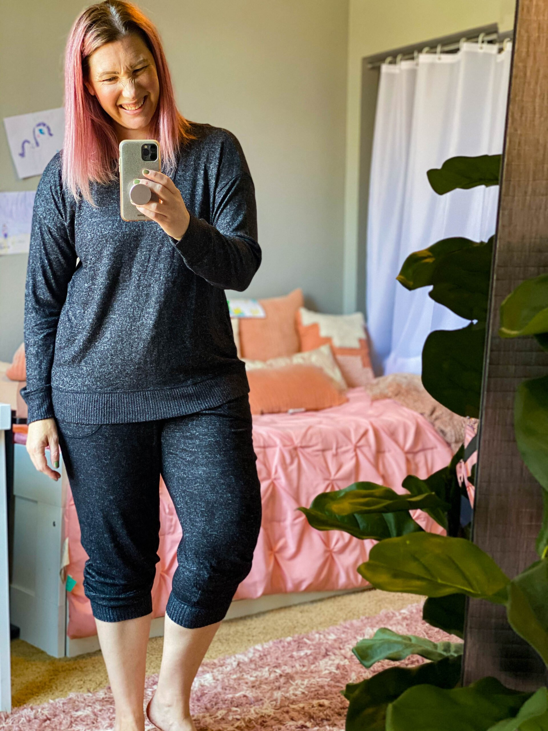 Casual Fall Outfit PERFECTION: the softest sweatsuit