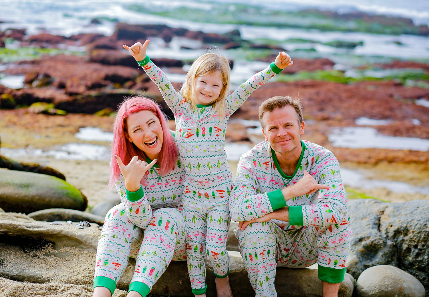 Matching family pajamas? They're a holiday must have!