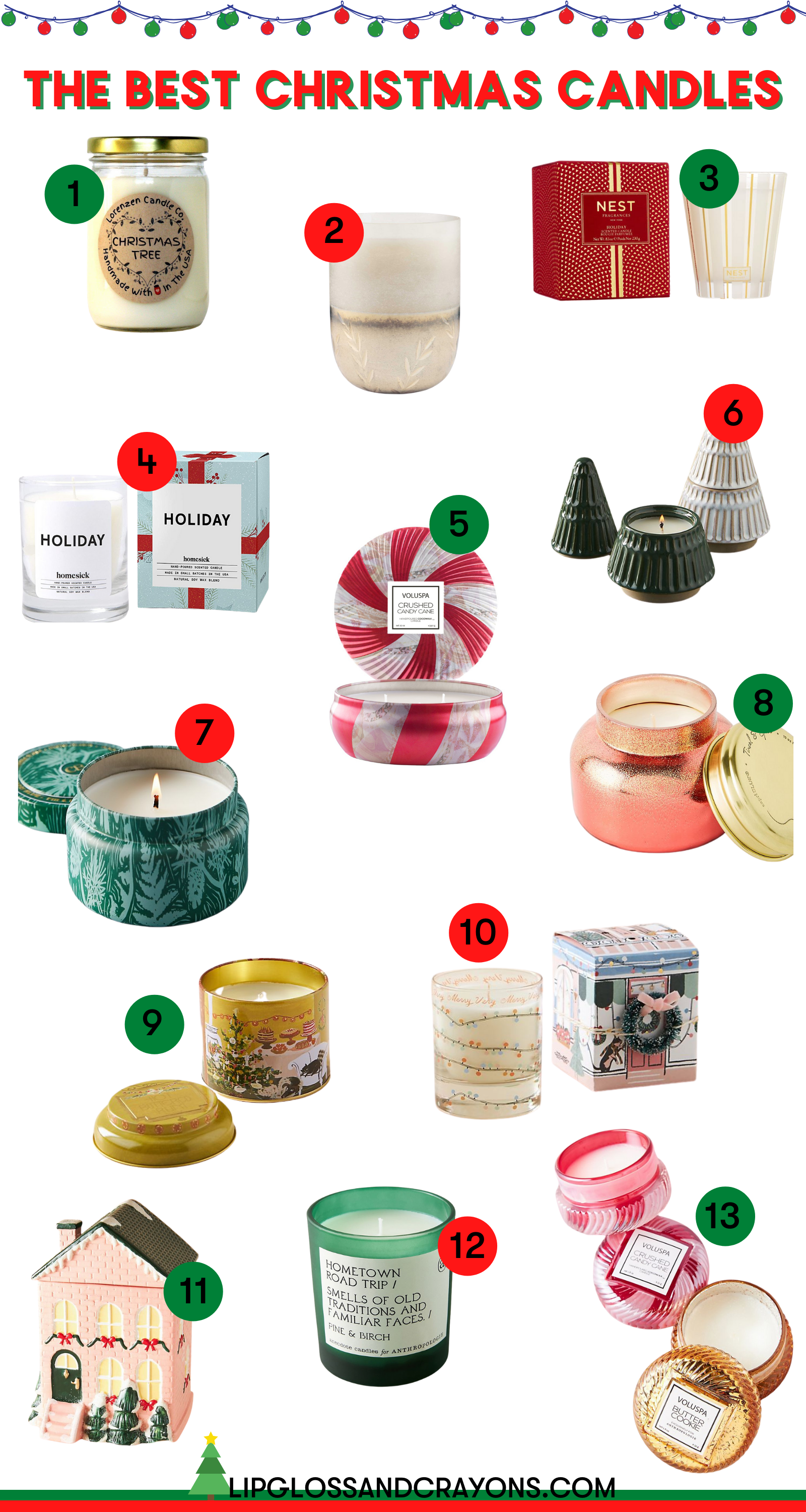 Best Christmas Candles: these are the best to add to your christmas home decor