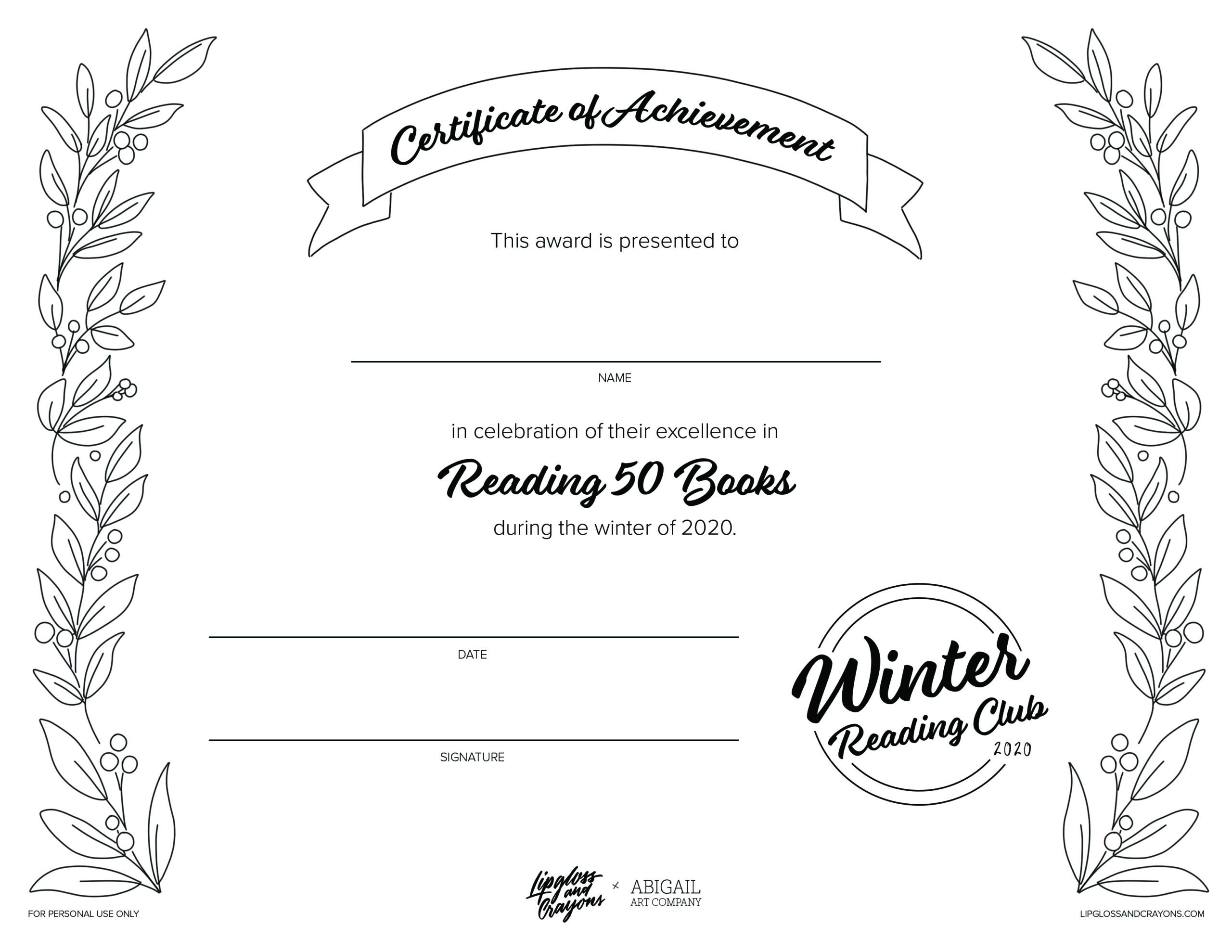 The holidays are almost here, and it's reading club time again! Our winter reading log for kids might be my favorite one yet (there's even a special holiday bonus!)
