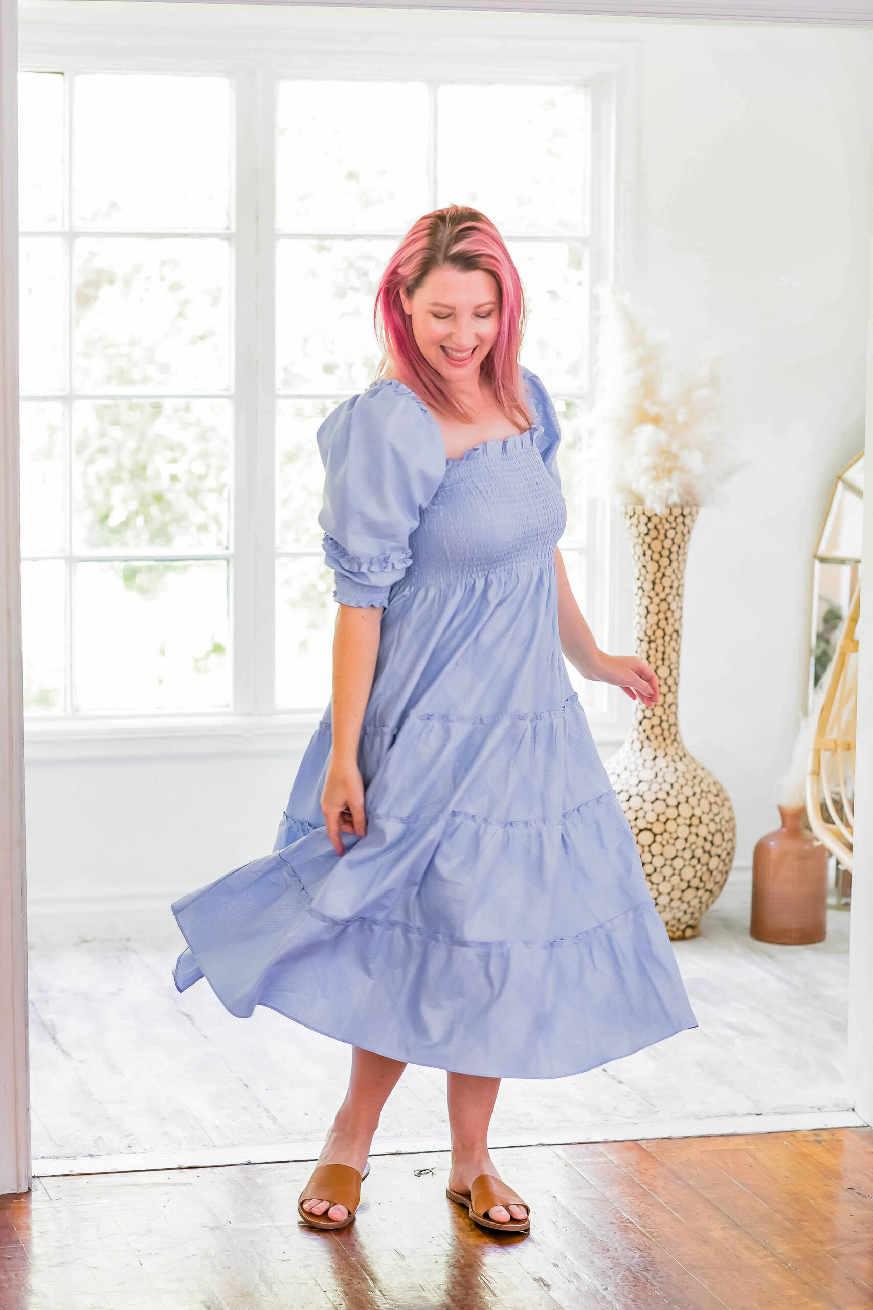 Looking for the best spring dresses? This Hill House Home dress is perfection!!