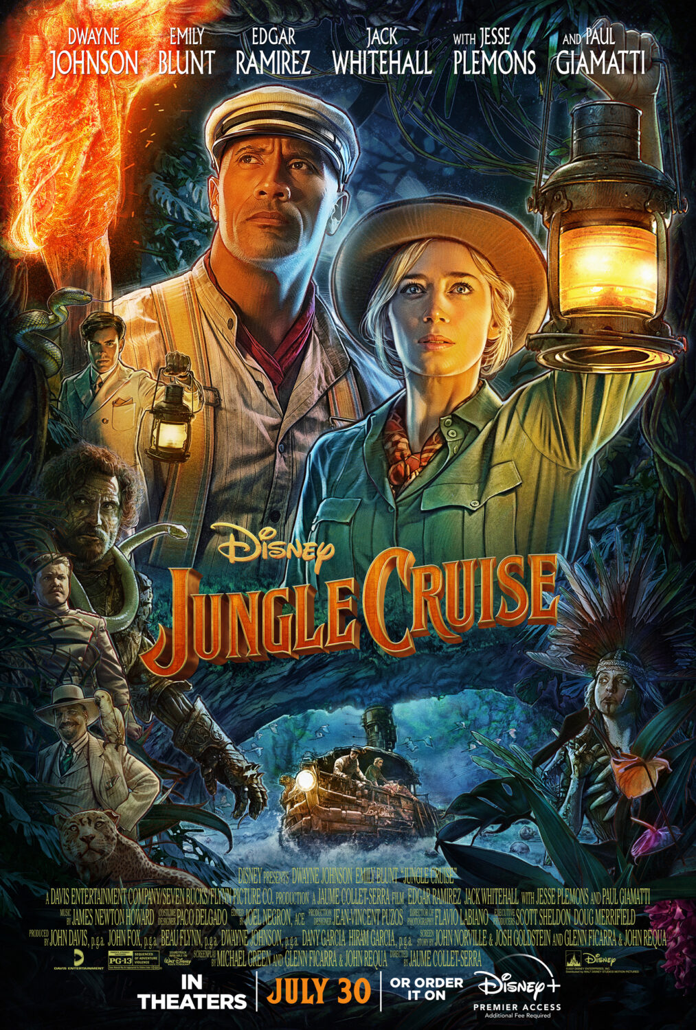 Disney's Jungle Cruise is rated PG-13……..but is it scary? Can kids watch it? What ages? This no spoilers Jungle Cruise movie review will help you decide!