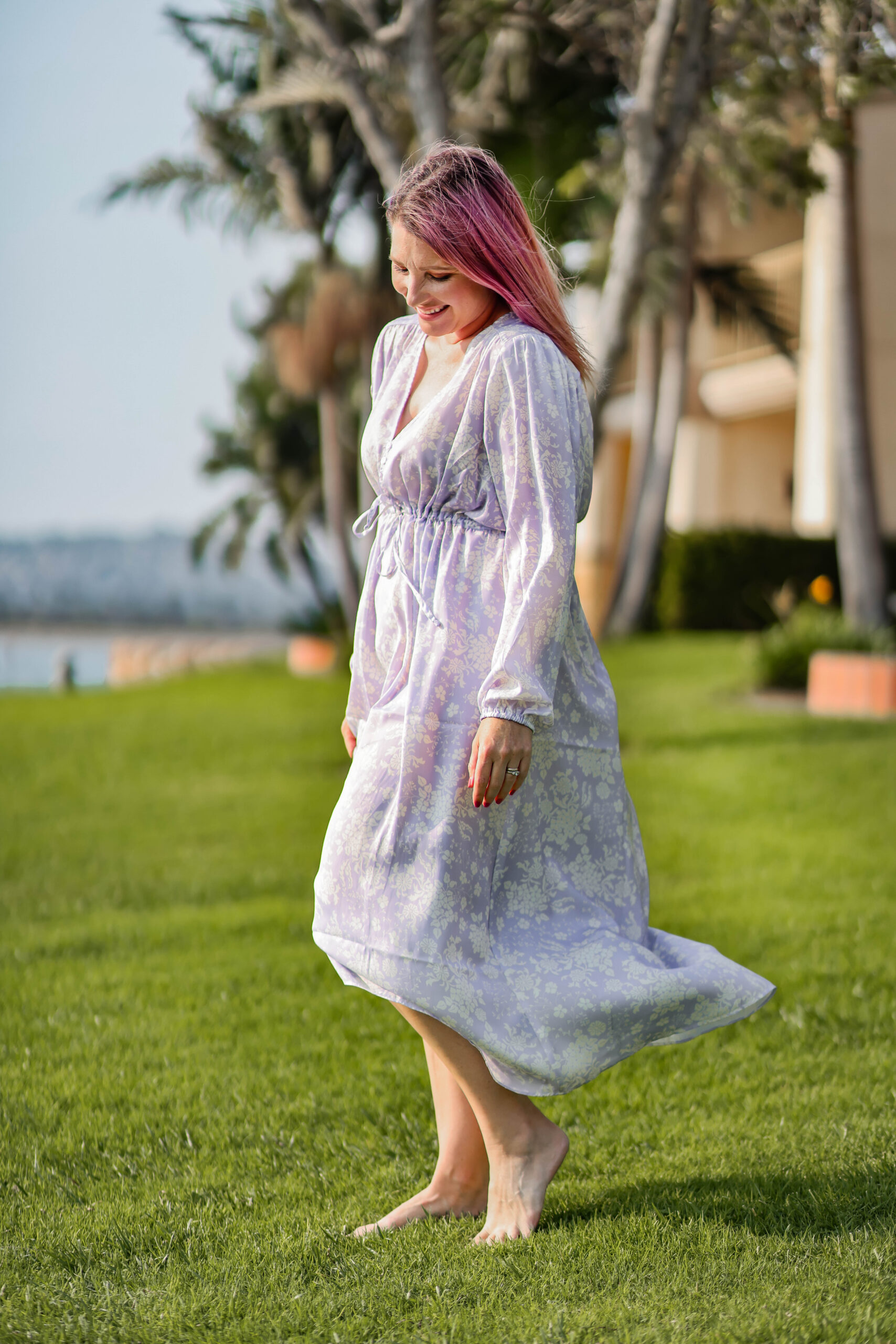 Did you know that Summersalt makes more than just swimsuits? This caftan dress is just LOVELY!