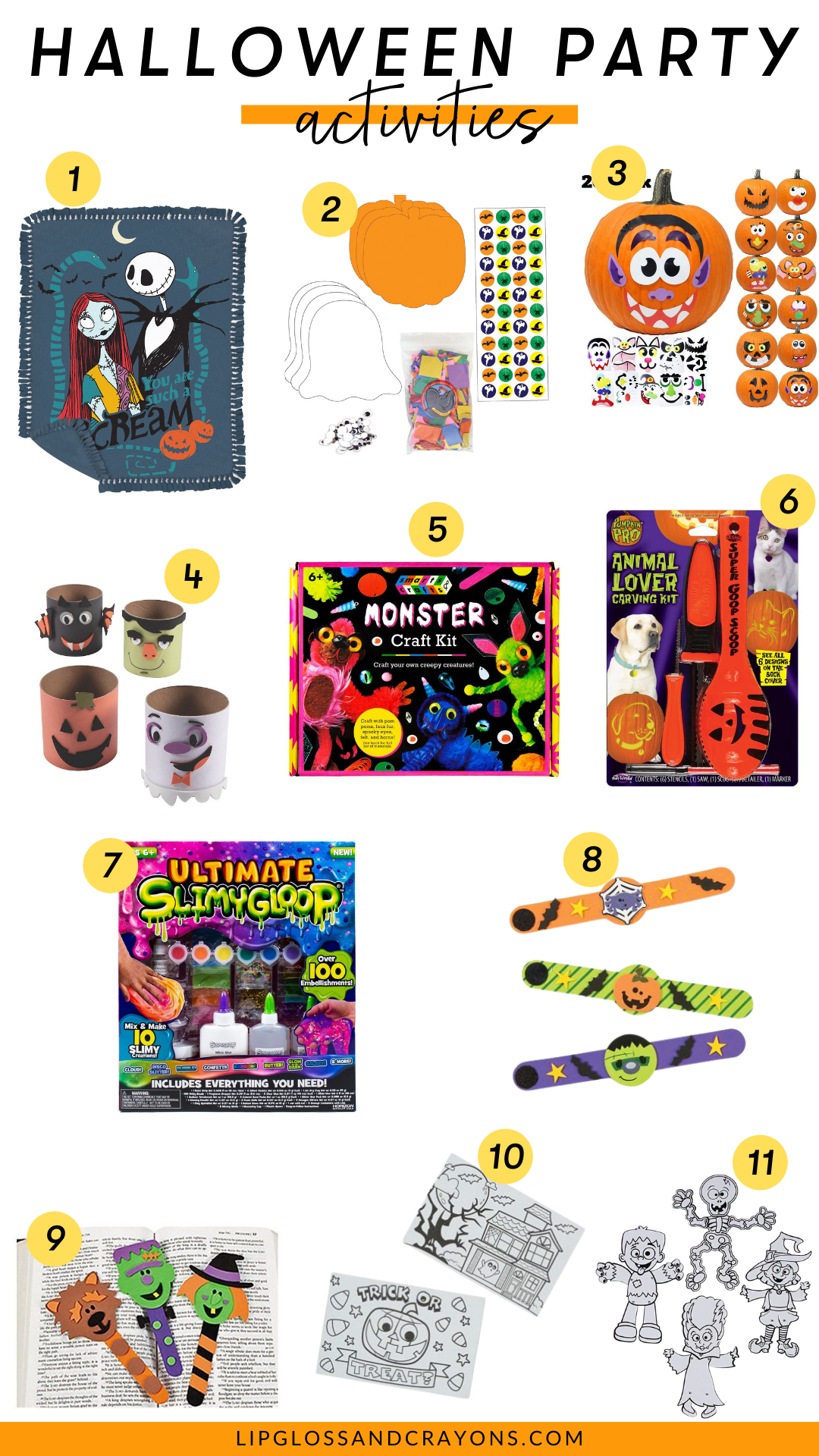 Looking for Halloween party activities for the classroom or home? These Halloween crafts for kids and Halloween Games ideas are perfect for spooky festivities!